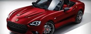 Rendering: Fiat 124 Abarth