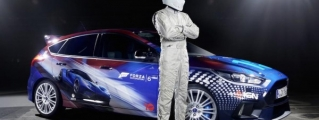 Top Gear's Stig Unveils Forza-Themed Ford Focus RS