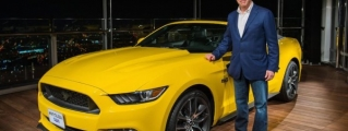 Ford Mustang Unveiled at Burj Khalifa