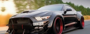 Ford Mustang Wide Body by Simon Motorsport