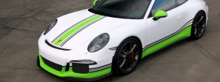 Fostla Porsche 991 GT3 Gets an Exclusive Wrap