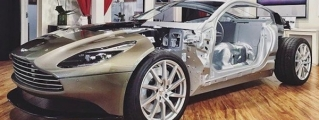 Flayed Aston Martin DB11 Shows Inner Aluminium Goodness