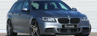 G-Power BMW M550d Wagon Tops 270 km/h