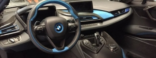 German Special Customs BMW i8 Interior Kit Unveiled