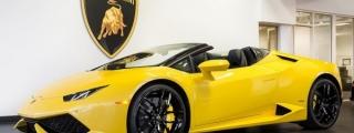 Eye Candy: Giallo Inti Lamborghini Huracan Spyder