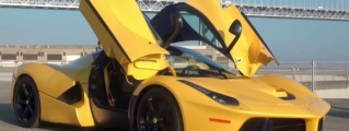 Up Close with Giallo Tristrato LaFerrari