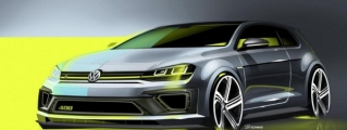 VW Golf R 400 Concept Headed for Beijing Debut