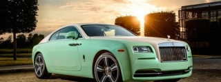 Michael Fux's Green Rolls-Royce Wraith Is Perplexing!