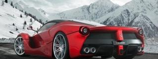 Rendering: Ferrari LaFerrari on HRE Wheels