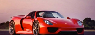 Gallery: Red Porsche 918 on HRE Wheels