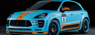 Gulf-Liveried Hamann Porsche Macan Wide Body Unveiled