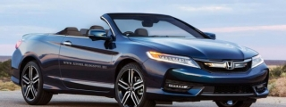 Honda Accord Cabrio Digitally Imagined