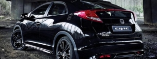 Honda Civic Black Edition Launched in the UK