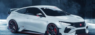 Rendering: Honda Civic Coupe Type R