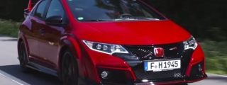 New Honda Civic Type R Tested on Road and Track