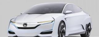 2015 NAIAS: Honda FCV Concept