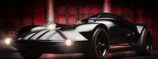 Full-Size Hot Wheels Darth Vader Car Unveiled