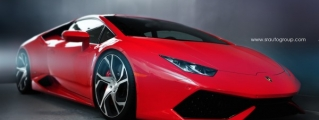Fabulous: Lamborghini Huracan on PUR Wheels