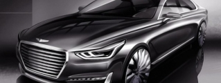 Hyundai G90 Luxury Sedan Teased