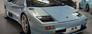 Ice Blue Lamborghini Diablo SV on Sale for £265K