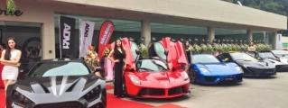Gallery: Supercars at Impressive Wrap Canton Grand Opening