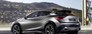 Infiniti QX30 Concept Revealed Further in New Teaser