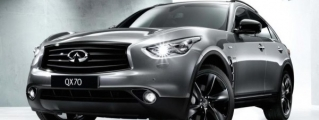Infiniti QX70S Design Launches in the UK