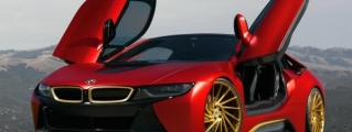 Spotlight: Austin Mahone's Iron Man BMW i8