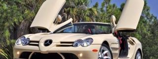 Eye Candy: Ivory White McLaren Mercedes SLR Roadster