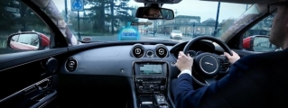 JLR Unveils Virtual Windscreen with Transparent Pillars