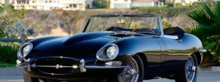 This Rock 'n' Roll Jaguar E-Type Could be Yours
