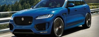 Rendering: Jaguar F-Pace RS
