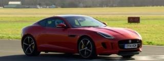 Watch The Stig Power Lap a Jaguar F-Type R