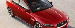 Rendering: Jaguar XE Coupe