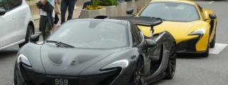 Jenson Button Spotted Driving His McLaren P1