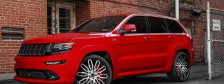 Jeep Cherokee SRT8 Rolling on 24s from Forgiato Wheels