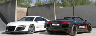 KMAN Audi R8 V10 Gets Up to 750 Horsepower