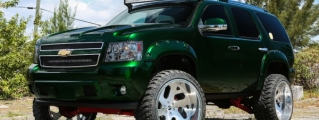 Pimpin' on a Budget: Kandy Green Chevrolet Tahoe