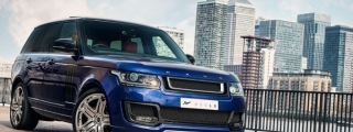 Kahn Design Range Rover 600-LE Bali Blue Revealed
