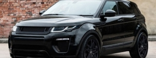 Kahn Range Rover Evoque Black Label Edition