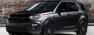 "Kahn Design Land Rover Discovery ""Black Label"""