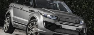 Kahn Range Rover Evoque RS in Orkney Grey