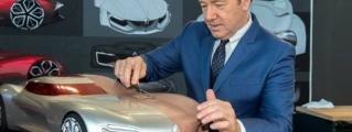 Kevin Spacey Visits Renault Design Center