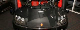 Eye Candy: Bare Carbon Koenigsegg CCX