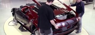 Bugatti Veyron LaFinale - The Making Of