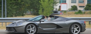 Sweet-Looking LaFerrari Aperta Sighted Outside Factory