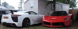 Epic Combo Spot: Ferrari LaFerrari and Lexus LFA