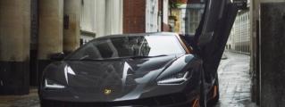 Lamborghini Centenario Spotted on Set of Transformers