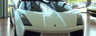 Lamborghini Concept S Filmed Up Close
