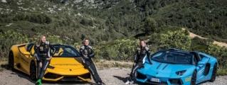 Wife Material: Lamborghini Racing Girls